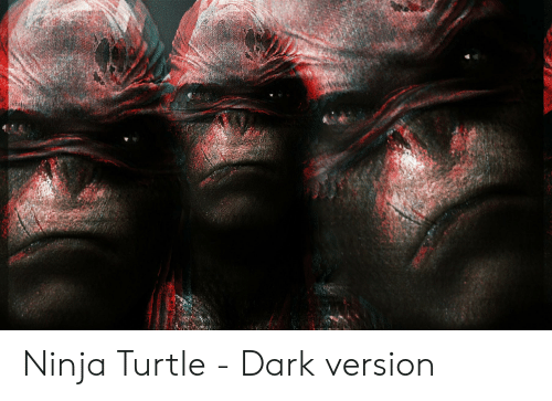 Ninja, Turtle, and Dark: Ninja Turtle - Dark version