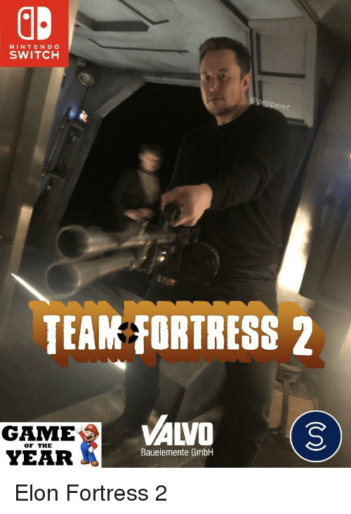 NINTEN D O SWITCH TEAM FORTRESS 2 GAME YEAR VALVO3 OF THE