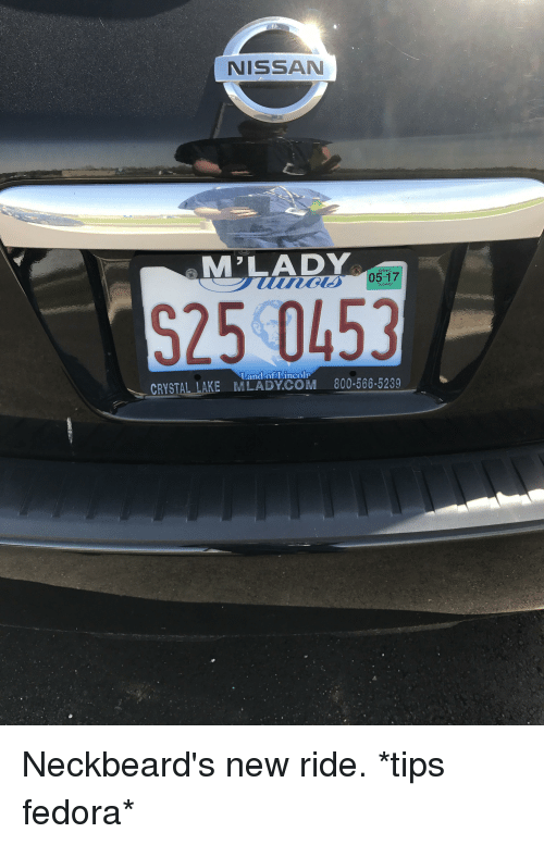 Fedora, Lincoln, And Nissan: NISSAN M LADY 05 17 S25 0453 CRYSTAL