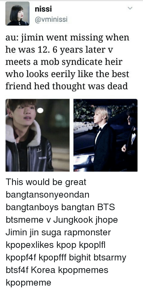 nISSI Gavminissi Au Jimin Went Missing When He Was 12 6 Years Later