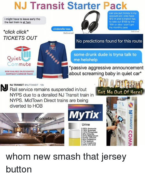 NJ Transit Starter Pack Can You Put Money in My Account Plz
