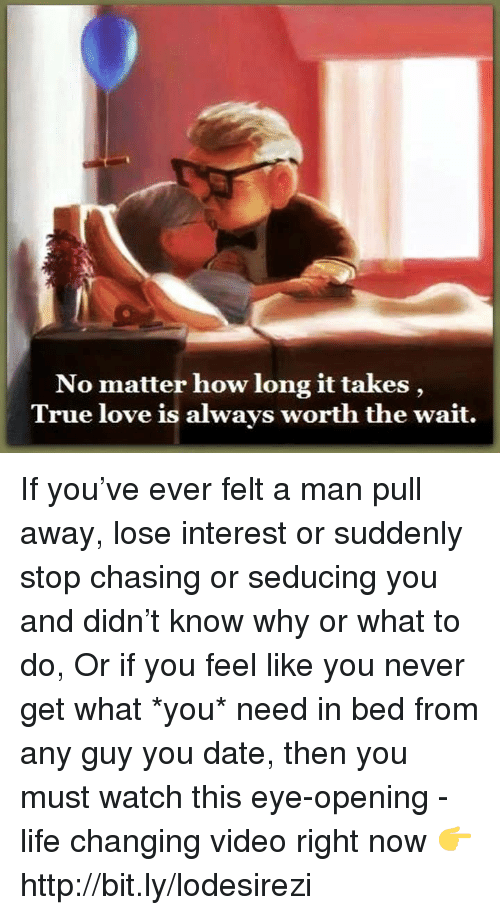 Why guys lose interest after the chase