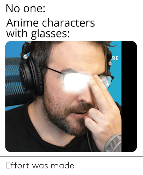 🔥 25+ Best Memes About Anime Characters With Glasses ...