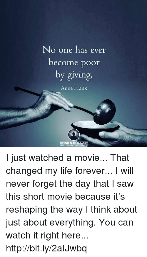 the movie that changed my life Variety's the movie that changed my life has 33 ratings and 6 reviews bob said: nobody asked, but here are a couple of the movies that changed my li.