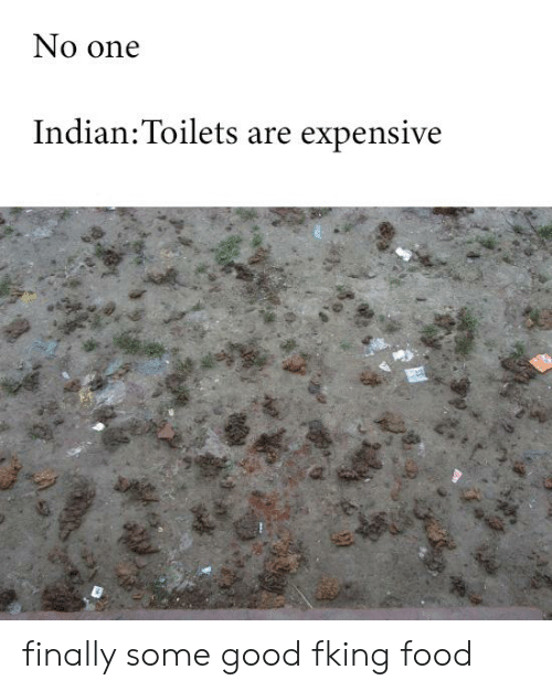 No One Indian Toilets Are Expensive Finally Some Good Fking