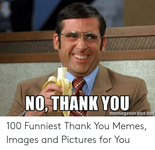 No Thank You Meme Funny Funny Png