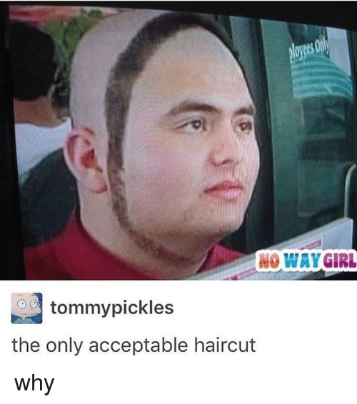 No Way Girl Tommy Pickles The Only Acceptable Haircut Why Haircut