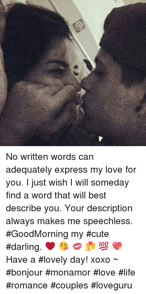 love description words