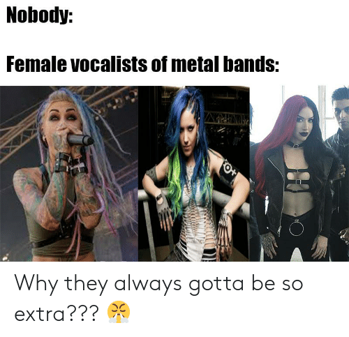 Nobody Female Vocalists of Metal Bands ANHRAV Why They