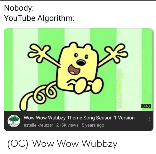 Timmy Thick Theme Song By Michael Jones: 25+ Best Memes About Wubbzy