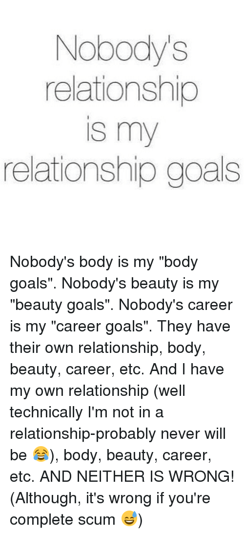 my career goals are