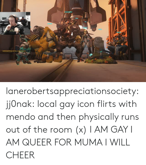 The Voice, Tumblr, and Twitch: noobsuber9has let the voice channel lanerobertsappreciationsociety:  jj0nak: local gay icon flirts with mendo and then physically runs out of the room (x) I AM GAY I AM QUEER FOR MUMA I WILL CHEER