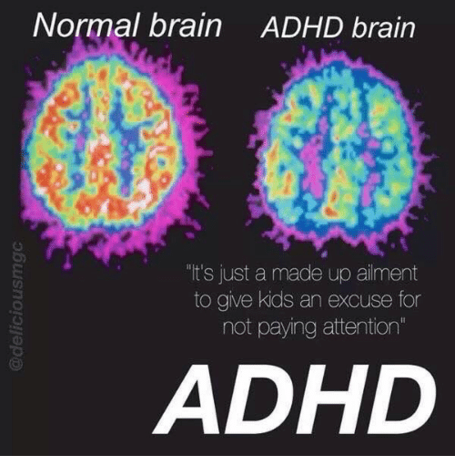 Adhd Brain And Kids Normal ADHD Its Just A Made