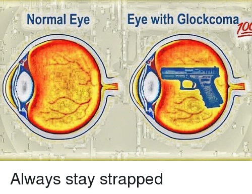 Dank Memes, Eve, and Eye: Normal Eye  Eve with Glockcoma  700  g Always stay strapped