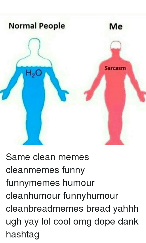 Normal people ho me sarcasm same clean memes cleanmemes for Www home