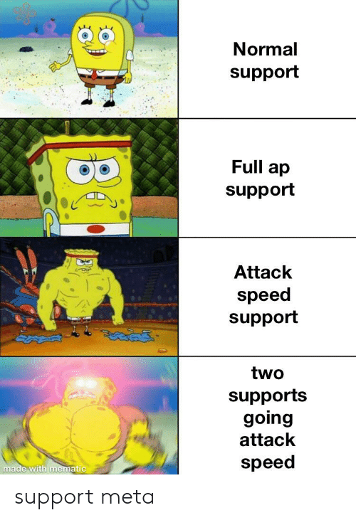 Normal Support Full Ap Support Attack Speed Support Two Supports
