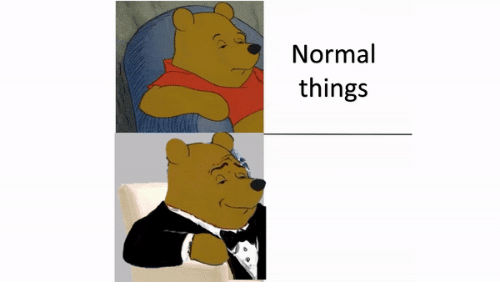 Normal and  Things: Normal  things