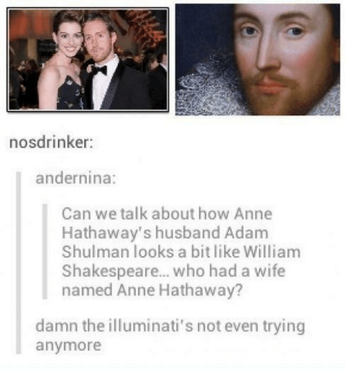 Nosdrinker Andernina Can We Talk About How Anne Hathaway's