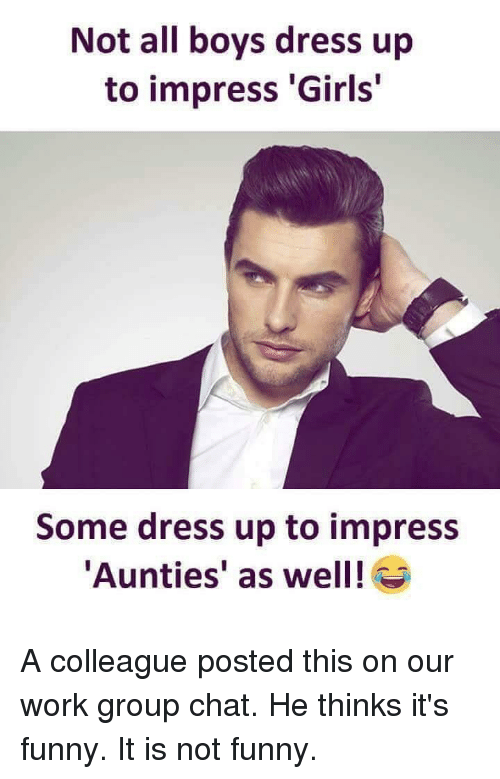 How to impress aunties