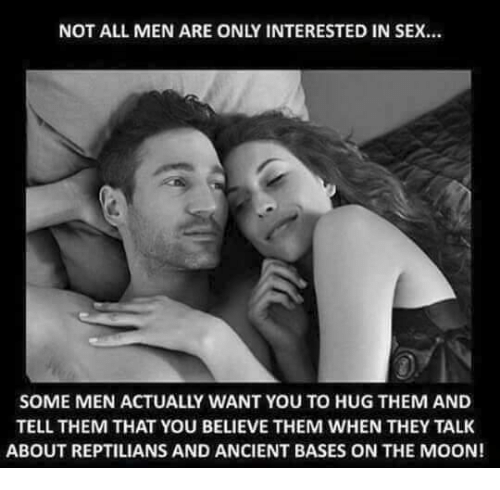 Men not interested is sex