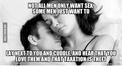 why don t men like to cuddle