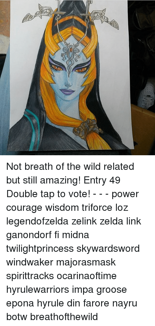 Not Breath Of The Wild Related But Still Amazing Entry 49 Double