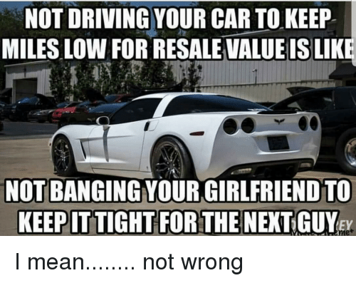 Cars Driving And Mean Not Your Car To Keep Miles Low