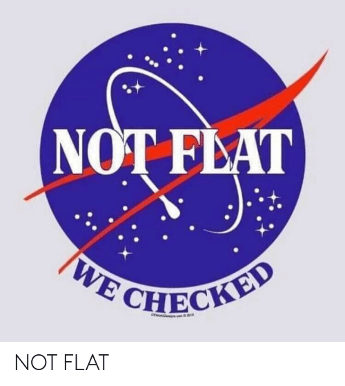 Flat, Not, and Checky: NOT FLAT  CHECKY NOT FLAT