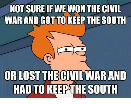 why did south lose the civil war