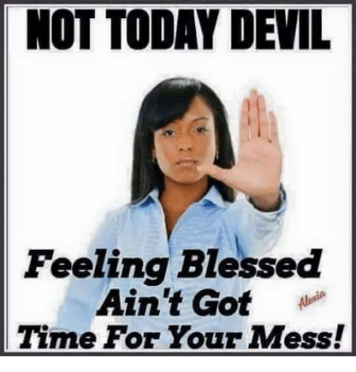 Too blessed to be stressed! | Christian memes  |Blessed Meme