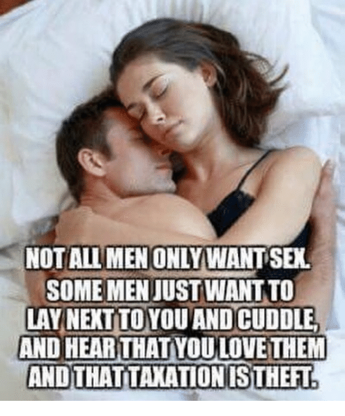 Is sex just sex for men