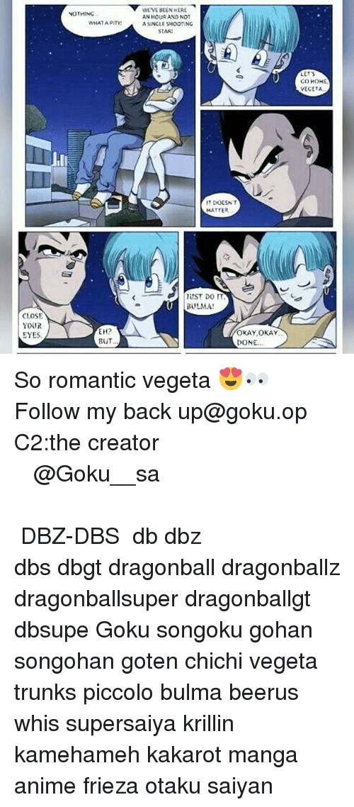 73e6b6a2 Anime, Bulma, and Dragonball: NOTHING CLOSE YOUR EYES, EH? BUT WEVE