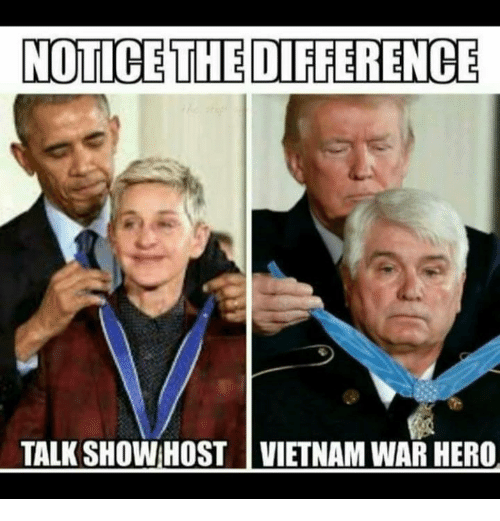 Memes, Vietnam, and 🤖: NOTICE THE DIFFERENCE  TALK SHOW:HOST | VIETNAM WAR HERO