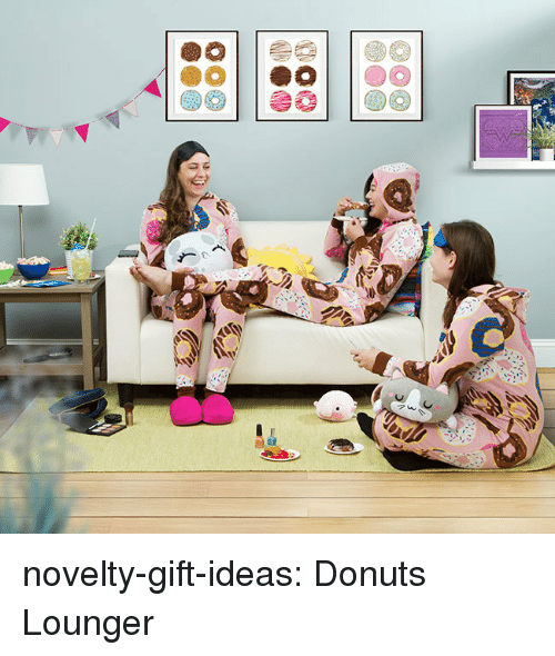 Tumblr, Blog, and Donuts: novelty-gift-ideas:  Donuts Lounger