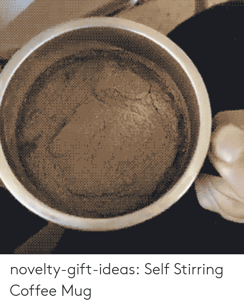 Tumblr, Blog, and Coffee: novelty-gift-ideas:  Self Stirring Coffee Mug