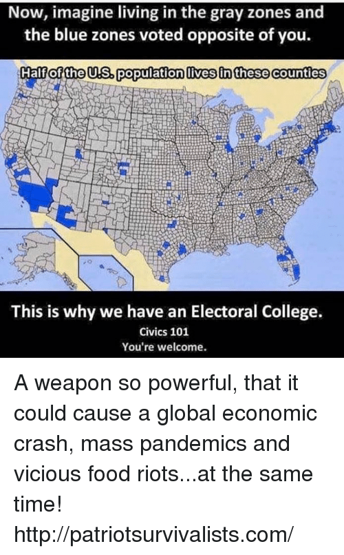 Us Electrocollege Map Globalinterco - Population concentration us map electoral colleg