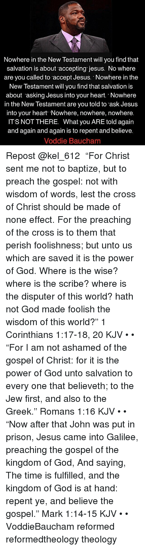 salvation new testament and christ Preaching christ from the old testament  know that jesus fulfills all three of these offices in the new testament: christ, as our redeemer, executeth the.
