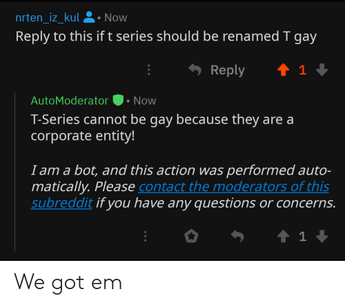2c257635d3 Nrten_iz_kulNow Reply to This if T Series Should Be Renamed T Gay ...
