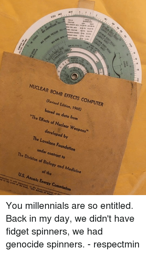 NUCLEAR BOMB EFFECTS COMPUTER Revised Edition 1962 Based on