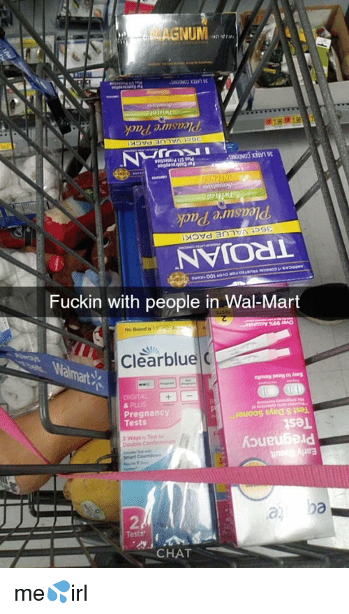 NUM Pais Fuckin With People in Wal-Mart %66 No Brand Is