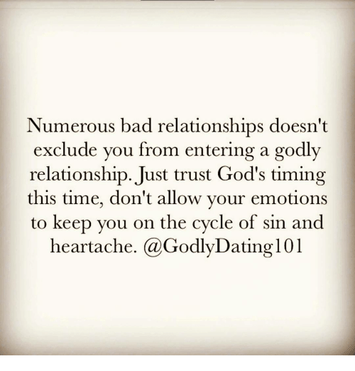 Gods timing in relationships