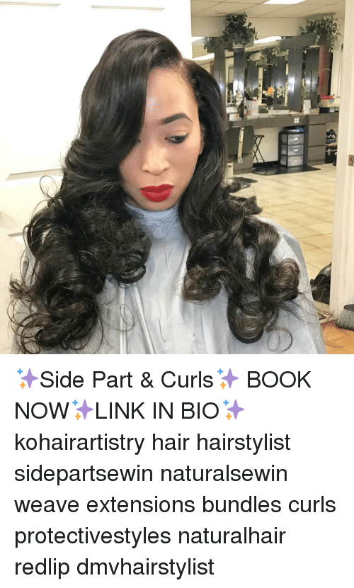 O Side Part Curls Book Nowlink In Bio Kohairartistry Hair