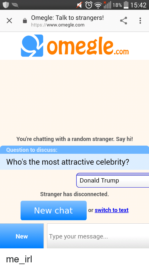 Chat with strangers 18