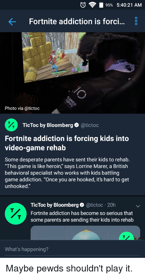Fortnite Addiction Is Forcing Kids Into Video Game Rehab Fortnite