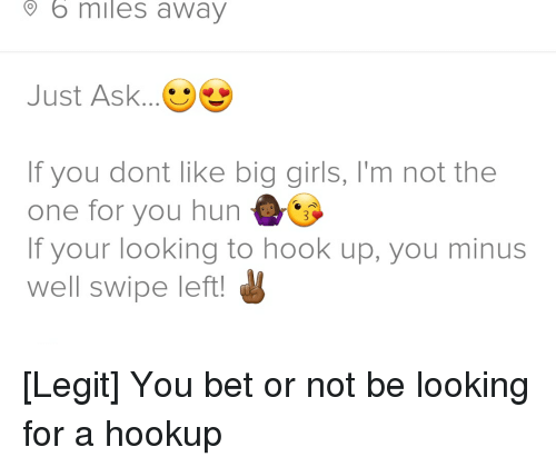 not looking for a hookup