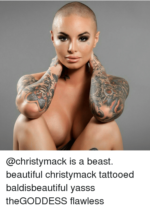 Opinion Christy mack tattoo consider, that