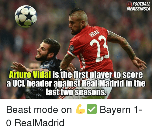 o football memesinsta arturo vidal is the first player to 18833285 25 best arturo memes riendo memes, vidal memes, arturo vidal memes
