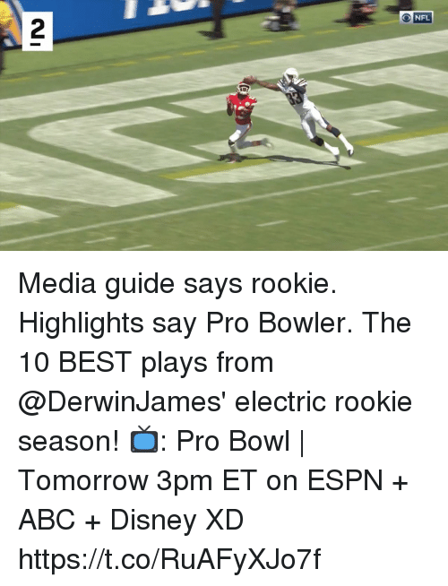 O Nfl 2 Media Guide Says Rookie Highlights Say Pro Bowler The 10