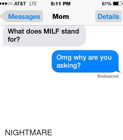 Does milf for what stands