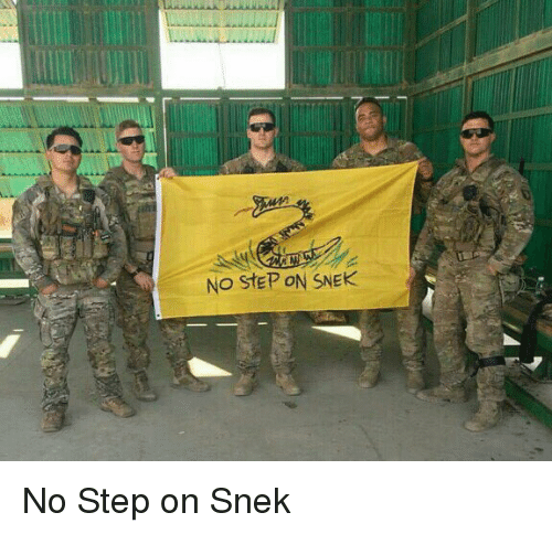 No Step On Snek